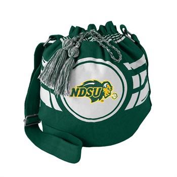 North Dakota State Bison Ripple Drawstring Bucket Bag
