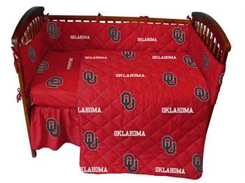 Oklahoma Sooners Crib Bedding