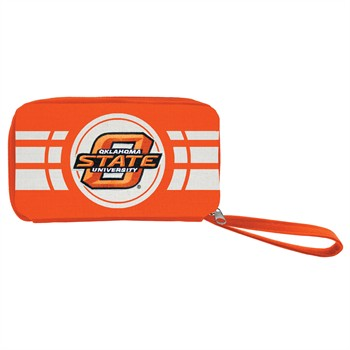 Oklahoma State Cowboys Ripple Zip Wallet