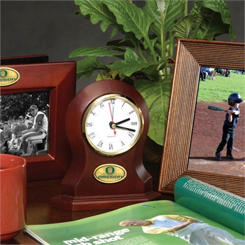 Oregon Ducks Desk Clock