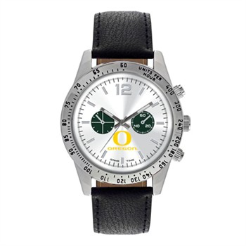 Oregon Ducks Men's Letterman Watch