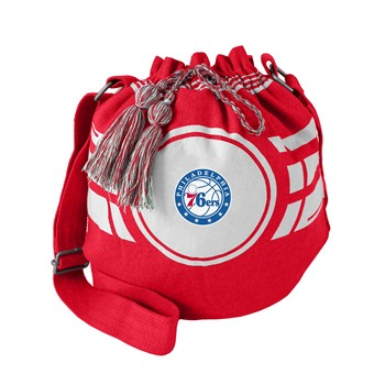 Philadelphia 76ers Ripple Drawstring Bucket Bag
