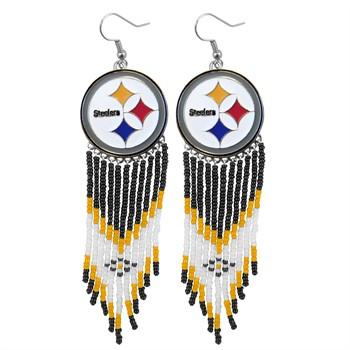 Pittsburgh Steelers Dreamcatcher Earrings