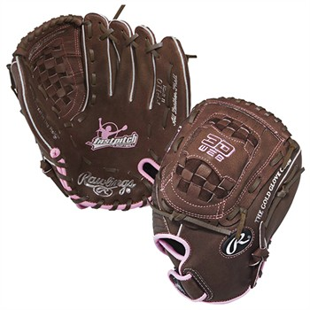 "Rawlings 11"" Youth Fast Pitch Softball Glove - Left Hand Throw"