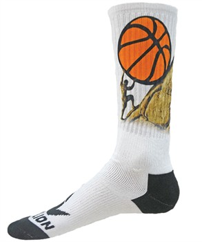 Red Lion Basketball Sisyphus Crew Socks