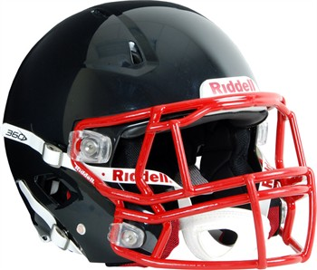 Riddell 360 Adult Football Helmet with Custom Facemask