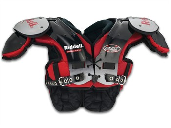Riddell EVX 18Y Youth Football Shoulder Pads - Skilled