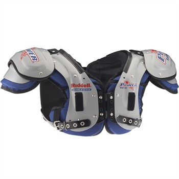 Riddell Power Extreme SPX10iBP Adult Football Shoulder Pads - QB/RB/WR