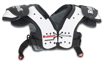 Riddell Warrior IIx Youth Football Shoulder Pads
