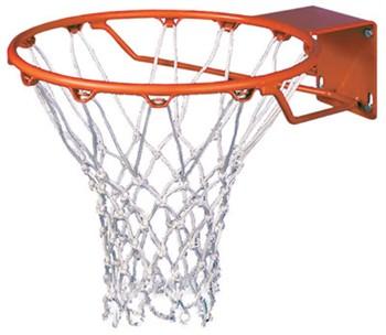 Spalding roughneck gorilla basketball rim 5 x 5 4 x 5 mount for How to build a basketball goal