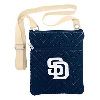 San Diego Padres Chevron Stitch Crossbody Bag