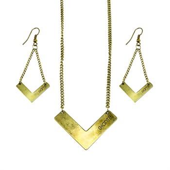 San Francisco Giants Chevron Jewelry Set