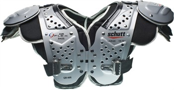 Schutt Air Flex Adult Football Shoulder Pads - Quarterback / Wide Receiver