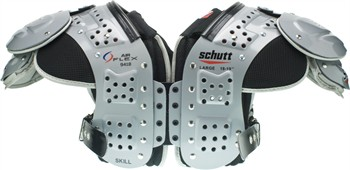 Schutt Air Flex Adult Football Shoulder Pads - Skill Positions