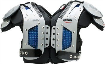 Schutt AiR Maxx Flex Adult Football Shoulder Pads - All Purpose