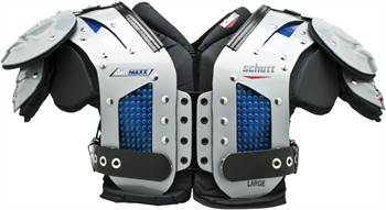 Schutt AiR Maxx Flex Adult Football Shoulder Pads - Skill Positions