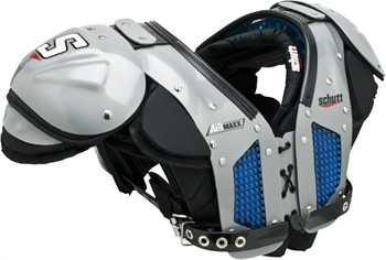 Schutt AiR Maxx Flex Youth Football Shoulder Pads - All Purpose - 2012