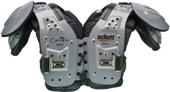 Schutt Mid Flex All Purpose Youth Football Shoulder Pads