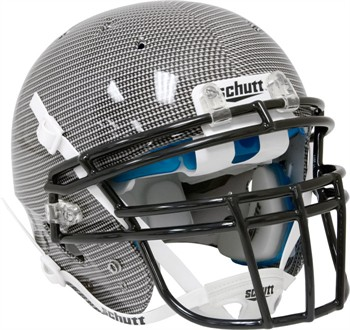 Schutt Recruit Hybrid Youth Football Helmet - Carbon Fiber