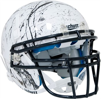 Schutt Recruit Hybrid Youth Football Helmet - Marble