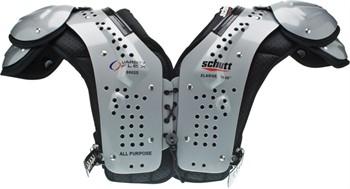 Schutt Varsity Flex Adult Football Shoulder Pads - All-Purpose