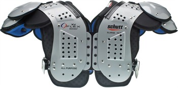 Schutt XV Flex Adult Football Shoulder Pads - All-Purpose