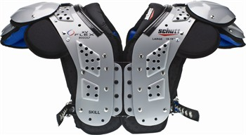 Schutt XV Flex Adult Football Shoulder Pads - Skill Positions