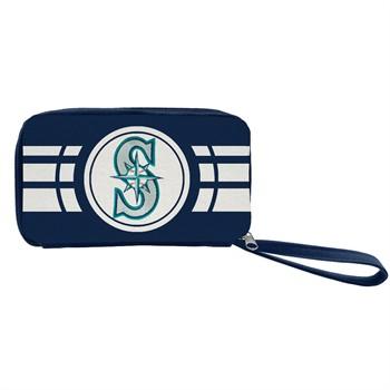 Seattle Mariners Ripple Zip Wallet