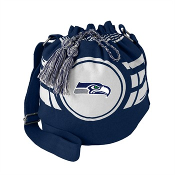 Seattle Seahawks Ripple Drawstring Bucket Bag