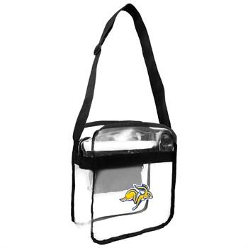 South Dakota State Jackrabbits Clear Crossbody Carry-All Bag