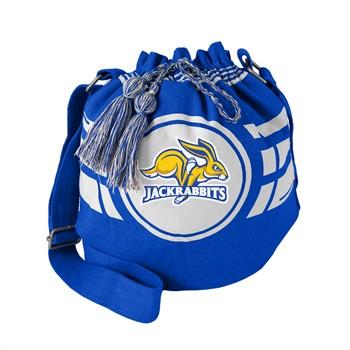 South Dakota State Jackrabbits Ripple Drawstring Bucket Bag