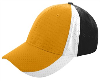 Sport Flex Three-color Athletic Mesh Baseball / Softball Cap