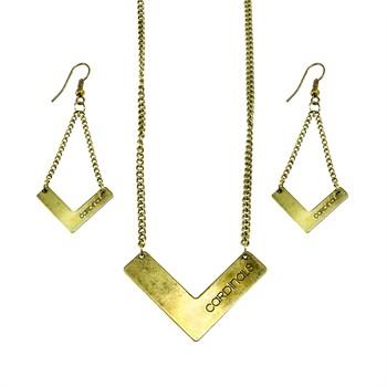 St. Louis Cardinals Chevron Jewelry Set
