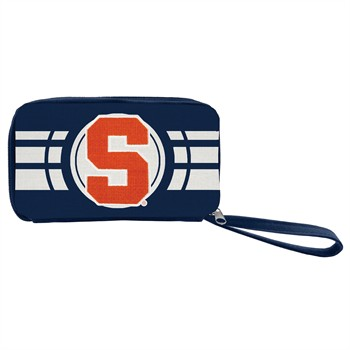 Syracuse Orange Ripple Zip Wallet