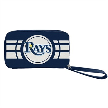 Tampa Bay Rays Ripple Zip Wallet