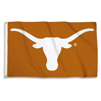 Texas Longhorns Orange 3' x 5' Flag