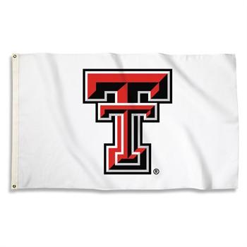 Texas Tech Red Raiders White 3' x 5' Flag