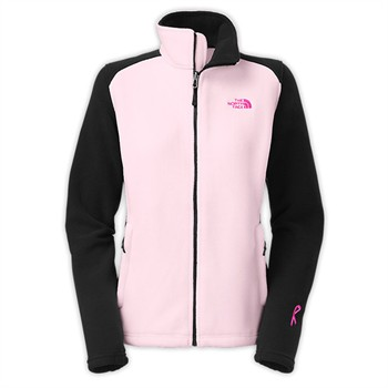The North Face Women's Pink Ribbon RDT Fleece Jacket