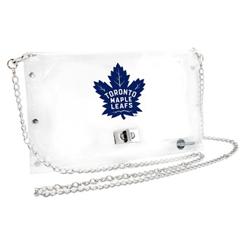 Toronto Maple Leafs NHL Clear Envelope Purse