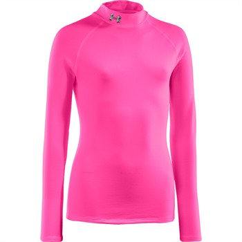 Under Armour ColdGear Fitted Girls Mockneck Shirt