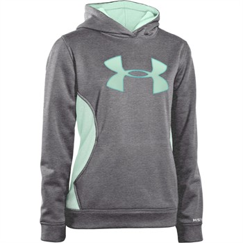 Under Armour Fleece Storm Big Logo Girls Hoodie