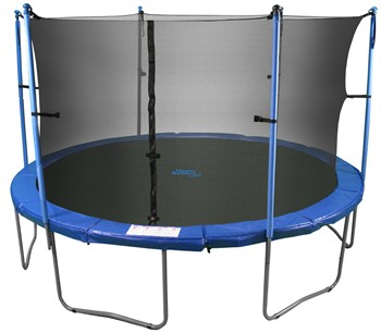 Upper Bounce 12 Trampoline Amp Enclosure Set With New Quot Easy