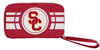 USC Trojans Ripple Zip Wallet
