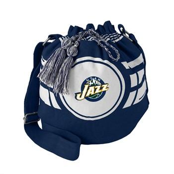 Utah Jazz Ripple Drawstring Bucket Bag
