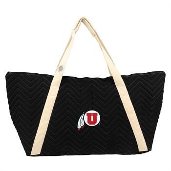 Utah Utes Chevron Stitch Weekender Bag
