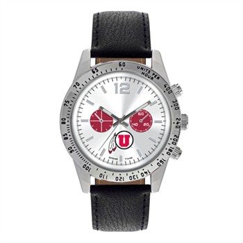 Utah Utes Men's Letterman Watch
