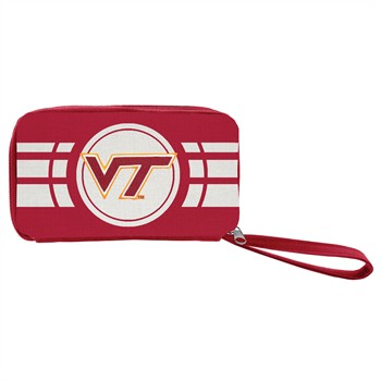 Virginia Tech Hokies Ripple Zip Wallet
