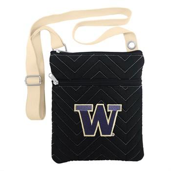 Washington Huskies Chevron Stitch Crossbody Bag