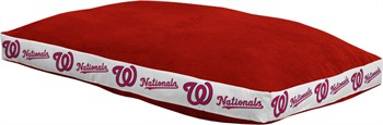 "Washington Nationals 26"" x 37"" Dog Bed"