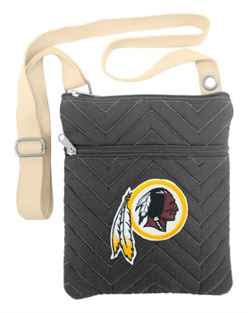 Washington Redskins Chevron Stitch Crossbody Bag